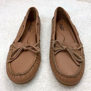 Lucky Brand Brown Soft Leather Driving Moccasin
